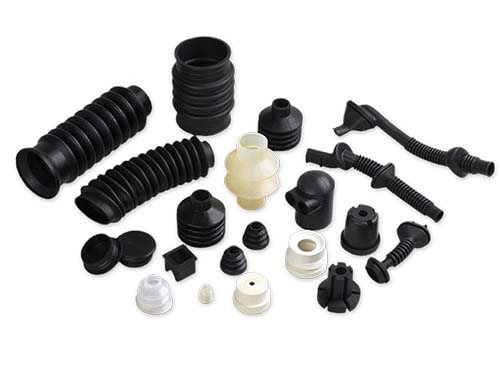 Molded Rubber Bellows & Parts